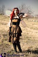 Steampunk Faerie by DaisyViktoria