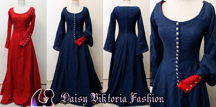 Miranda The Tempest Medieval Gown by DaisyViktoria