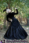Dark Enchantment - Ballgown Back View
