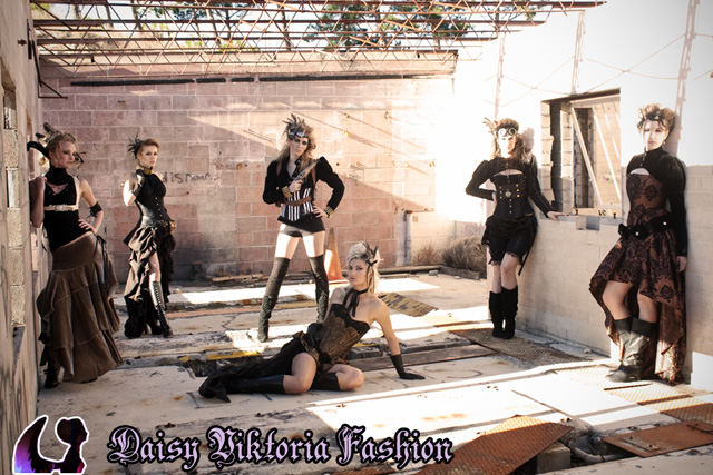 Post Apocalyptic Girls by DaisyViktoria