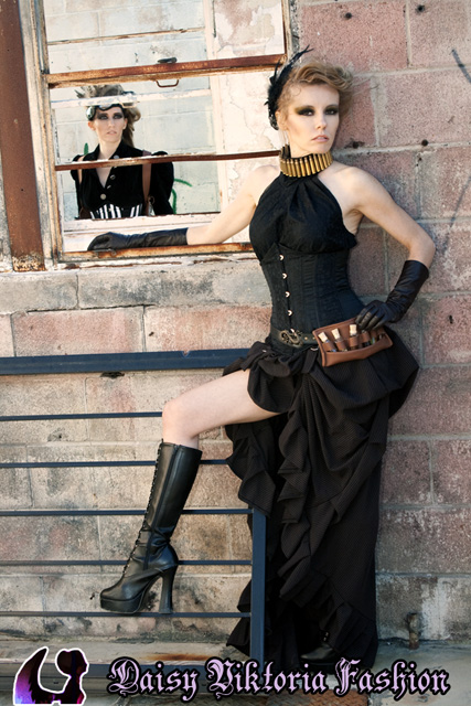 Steampunk Ania and Acacia by DaisyViktoria