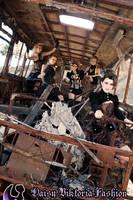 Post Apocalyptic Girl Group On The Bus by DaisyViktoria