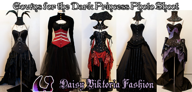 Dark Princess Gowns by DaisyViktoria ... : black princess costume  - Germanpascual.Com