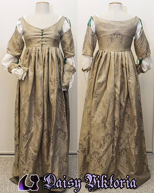 Italian Renaissance Dress - Late 15th Century by DaisyViktoria