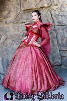 Red Queen Gown by DaisyViktoria