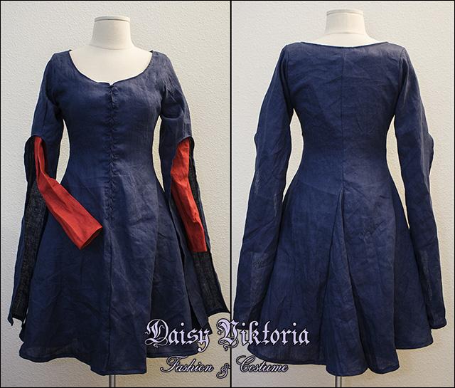 Miranda The Tempest Short Gown by DaisyViktoria