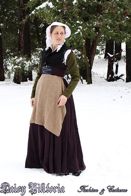 16th Century Wool Flemish Gown by DaisyViktoria