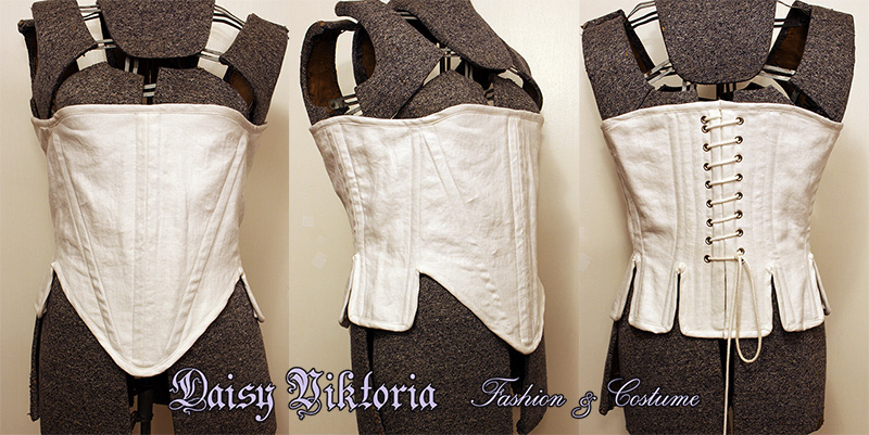 Elizabethan Corset Commission by DaisyViktoria