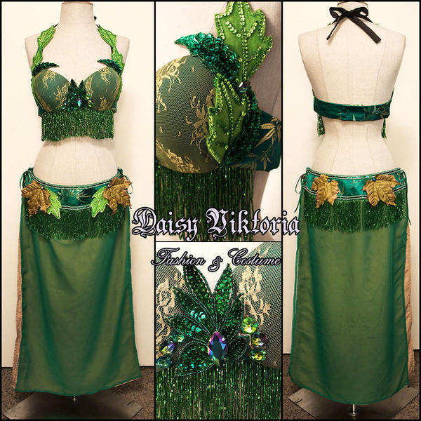 Poison Ivy Bellydance Costume by DaisyViktoria