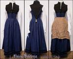 Blue Renaissance Kirtle