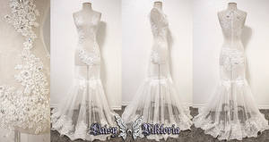 White Lace Majesty Gown