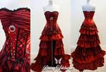Scarlett Princess Ruffled Fairytale Gown