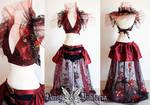 Gothic Steampunk Burlesque Costume by DaisyViktoria