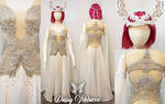 White Stag Queen Gown
