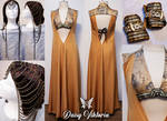 Ellaria Sand Cosplay Gown