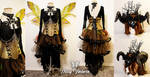 Dark Autumn Faerie Costume by DaisyViktoria
