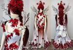 Weirwood Gown Bustled by DaisyViktoria
