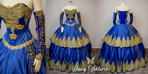 Swedish Royalty Pageant Gown