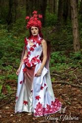 Weirwood Tree Dryad Gown