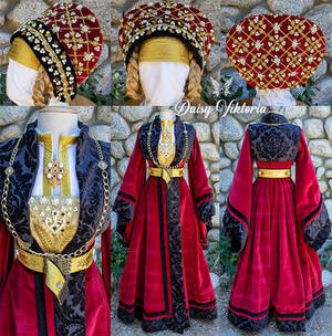 Anne of Cleves - 16th century German gown