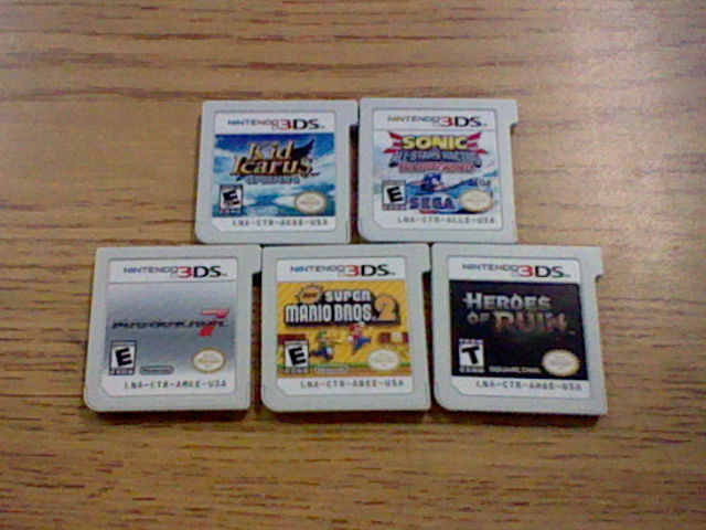 My 3DS game collection by blackbird59 on DeviantArt