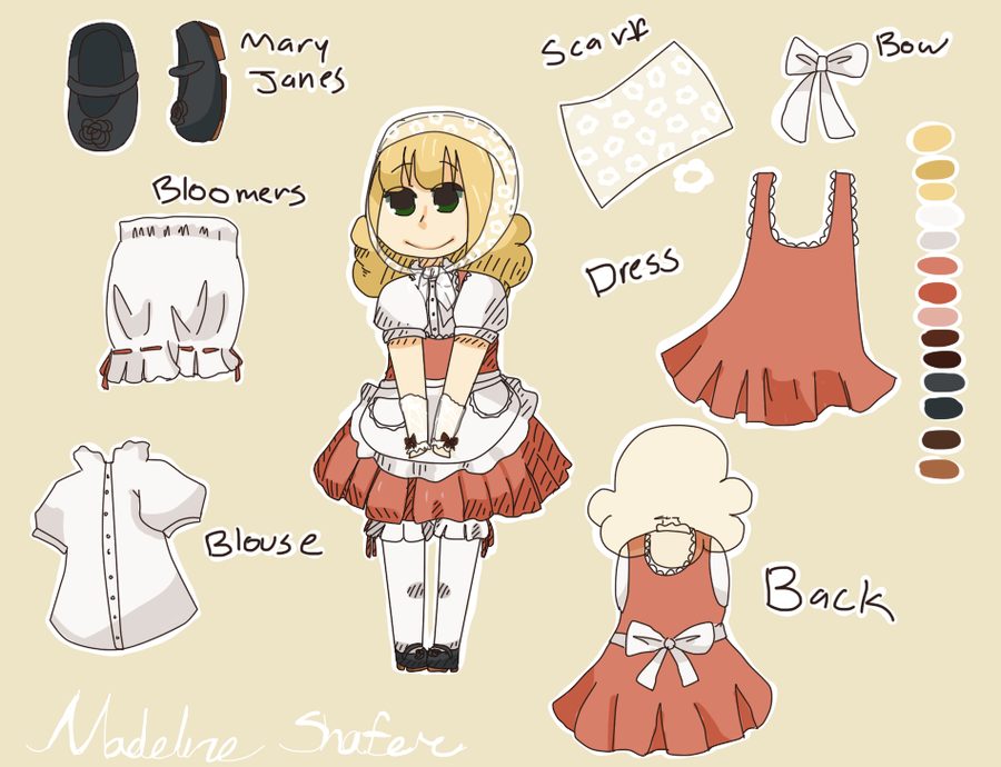 Character Design Contest : Character design contest entry by vanillabit on deviantart
