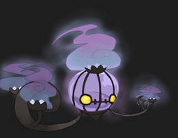 Chandelure by vanillabit