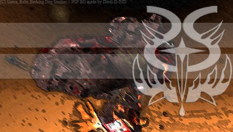 Beast battle PSP BG by Devil-D-IND