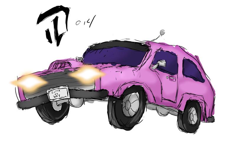 Super rough muscle car test by Devil-D-IND