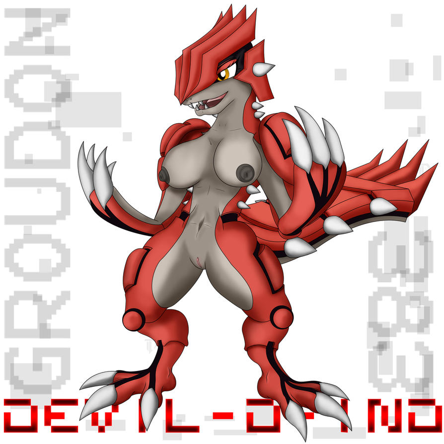 Anthro Groudon by Devil-D-IND