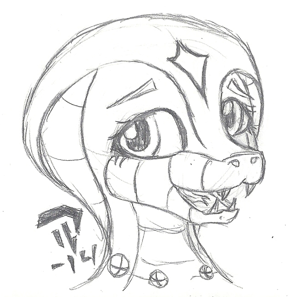 Traditional D'Yaan happyface by Devil-D-IND