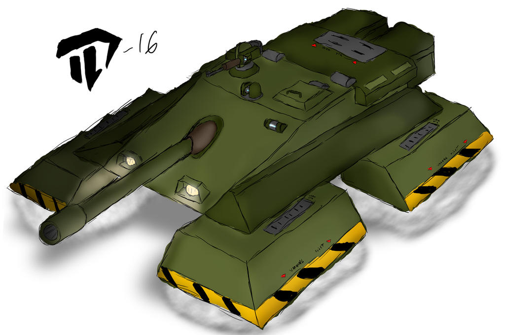 Ultra rough Hover Tank S 20160116 by Devil-D-IND