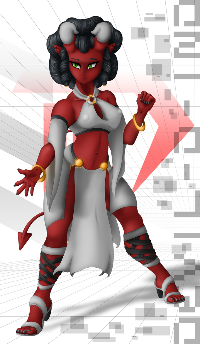 Devilgirl - VER C 20170511 by Devil-D-IND