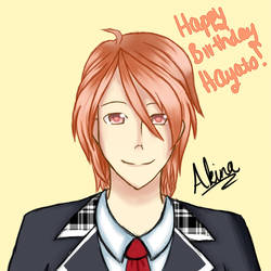 Happy Birthday Hayato!