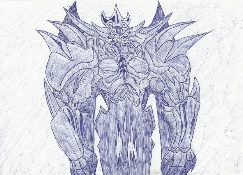 Yugioh Obelisk The Tormentor Drawing