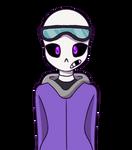 ayyy new skeleton oc