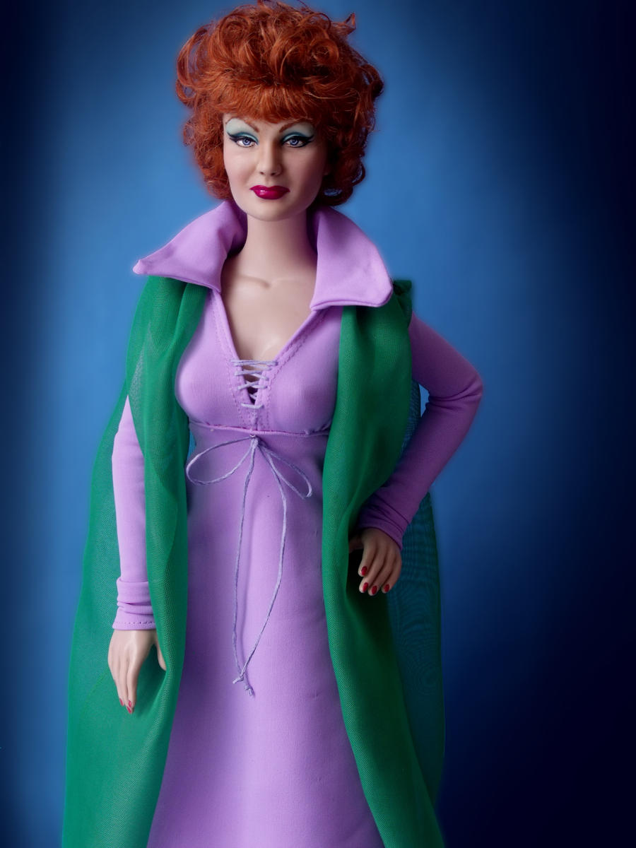 Bewitched Endora Doll Repaint by ShannonCraven