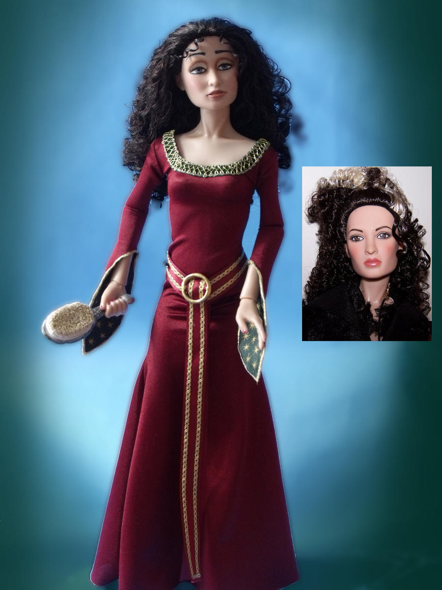 Mother Gothel OOAK Doll by