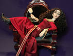 Mother Gothel Doll Repaint