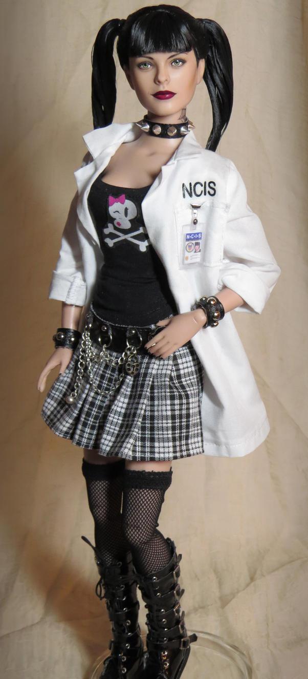 Abby Sciuto Ncis Ncis Abby Sciuto Custom Doll