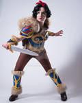 Snow White Warrior Cosplay