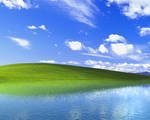 Windows XP Ireland with water