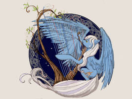 My wing is harp by velvetrwings