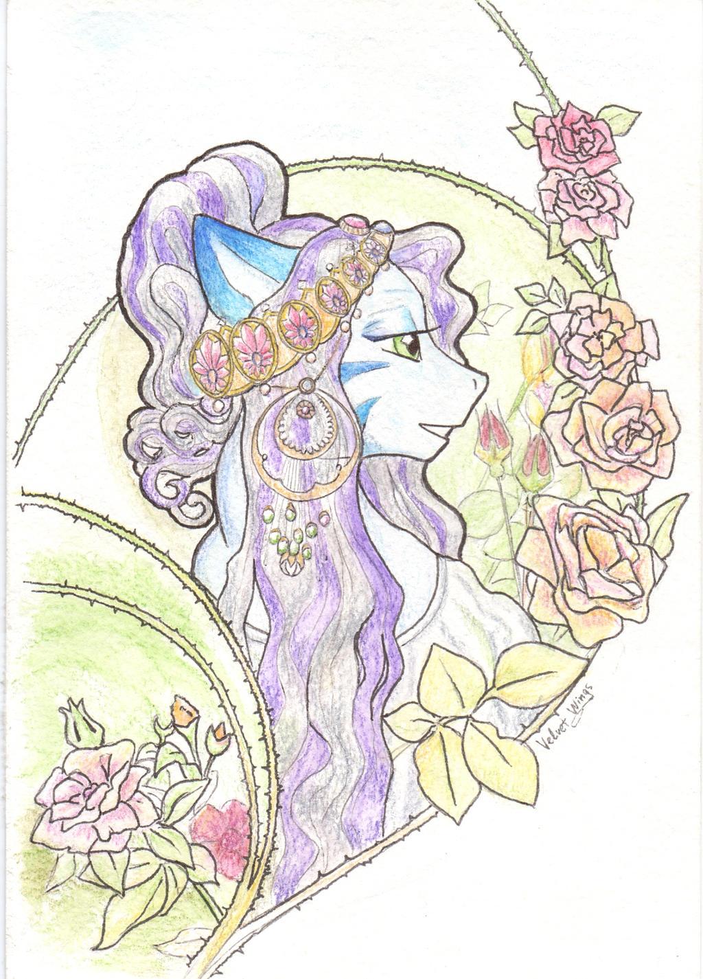 The Rose by velvetrwings
