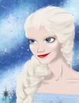 Elsa the Snow Queen by Kumi4eva