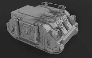 Wh40K Deimos Pattern Rhino (Mk1C) WIP2 by SerpentTheGreen