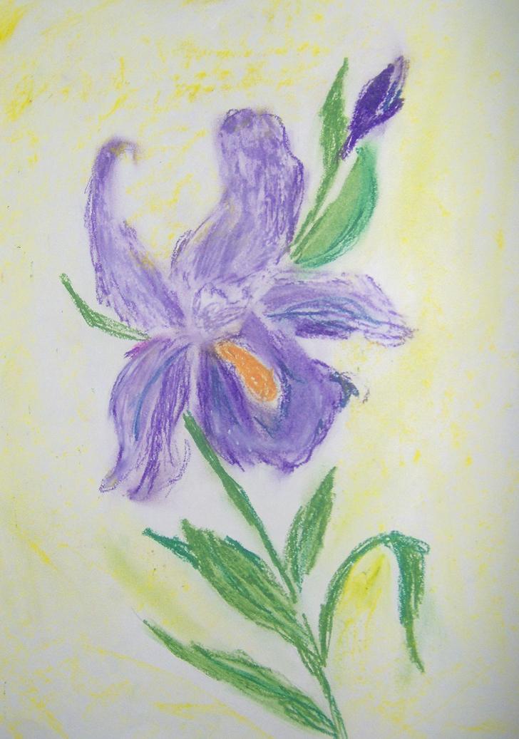 how to make violet oil