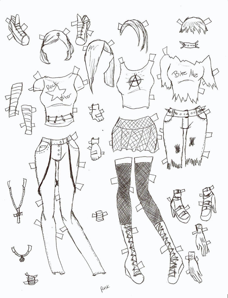 displaying 20 gt images for   punk clothing anime