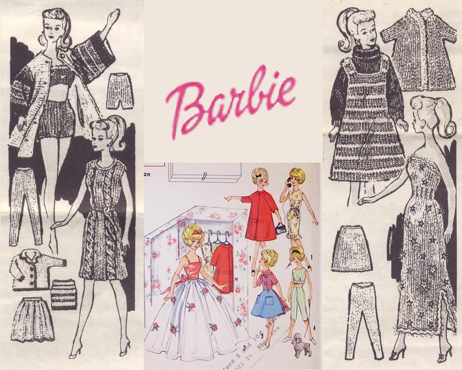 Vintage Barbie Wallpaper Barbie wallpaper design byVintage Barbie Wallpaper