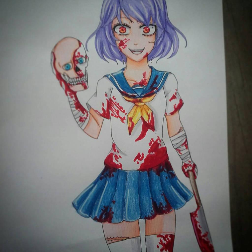 Fille Manga Psychopathe By Minesis On Deviantart